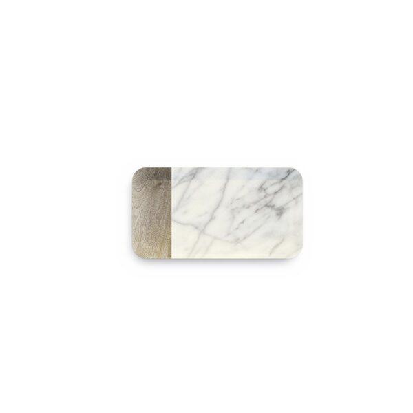 Vassoio Rettangolare Piccolo Carrara - conf. 2pz