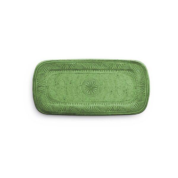 Vassoio  Rettangolare - Verde - Mono