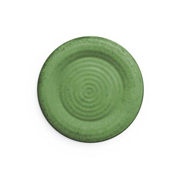 Piatti Dessert Mono Verde - confezione 4 piatti