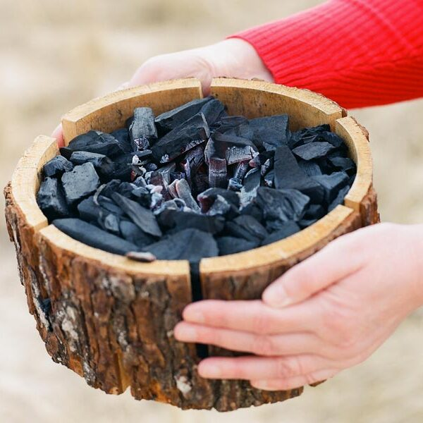 Wooden Barbecue burner - XL