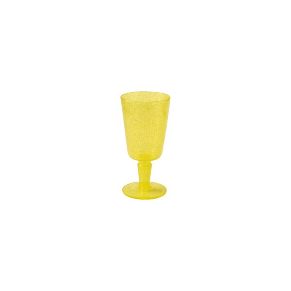 Goblet - Yellow Transparent