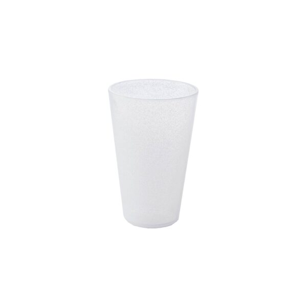 Drink Glass - White Transparent