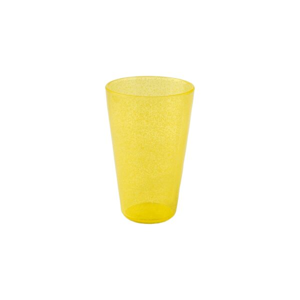 Drink Glass - Yellow Transparent