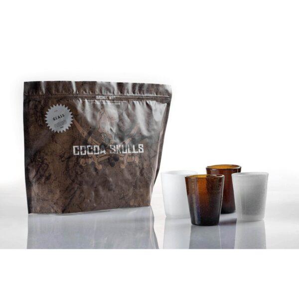 COCOA SCKULLS - GLASS