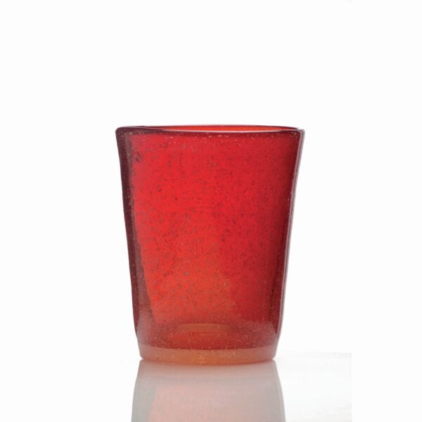 000107 - GLASS - RED