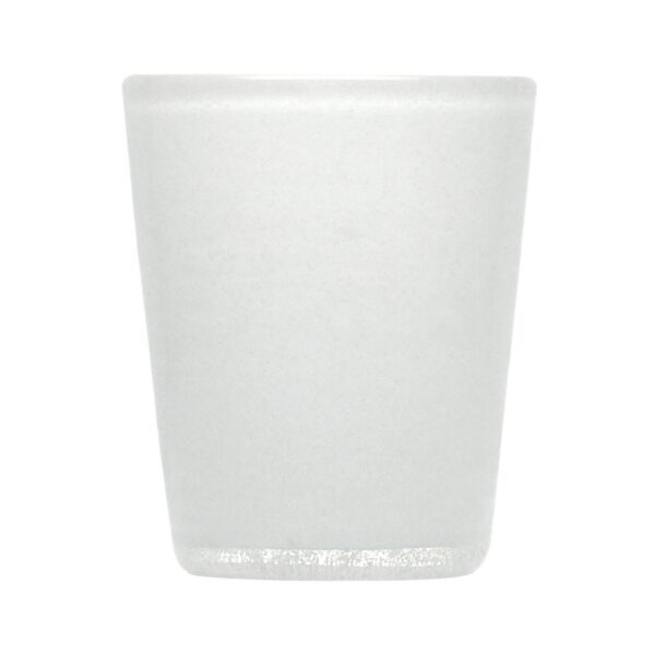 000124 - GLASS - WHITE SOLID