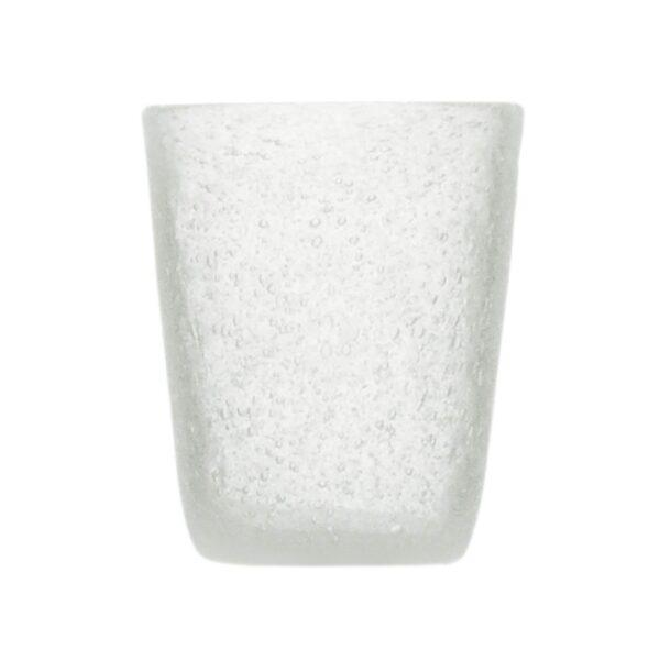 000123 - GLASS - WHITE TRANSP.