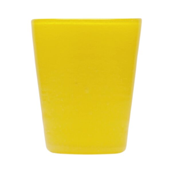 000102 - GLASS - YELLOW SOLID