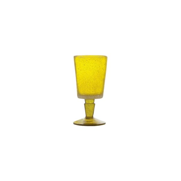000201 - GOBLET - YELLOW TRANSP.