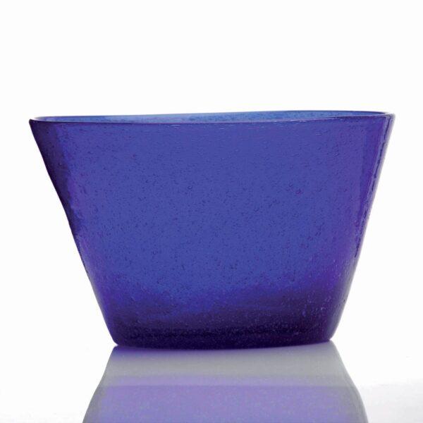 000731 - SMALL BOWL - BLUE V.