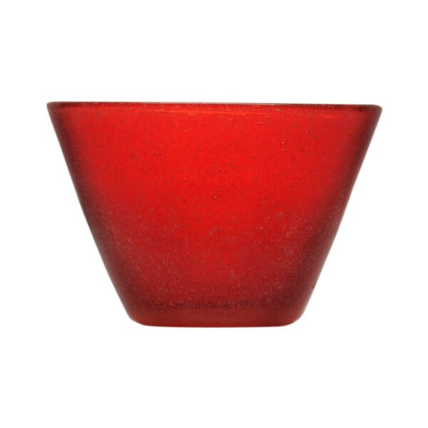 000707 - SMALL BOWL - RED