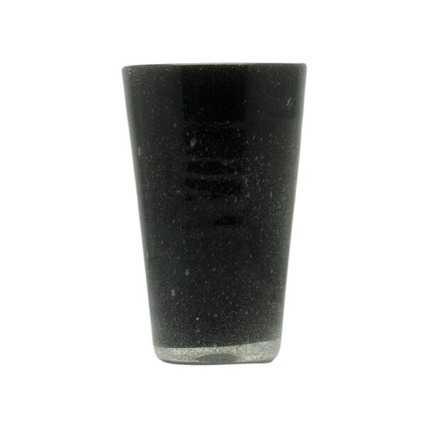 000827 - DRINK GLASS - BLACK SOLID