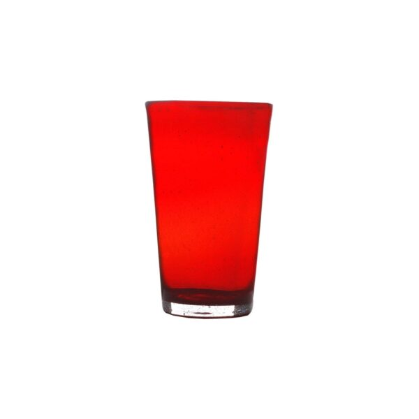 000807 - DRINK GLASS - RED