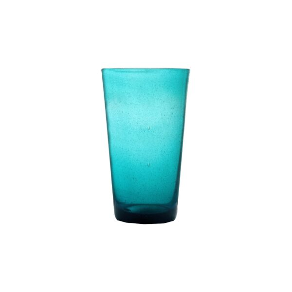 000814 - DRINK GLASS - TURQUOISE