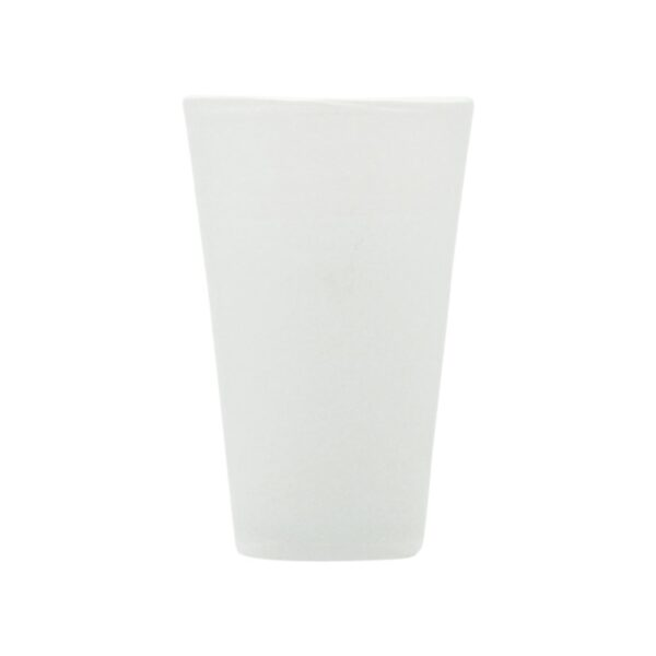 000824 - DRINK GLASS - WHITE SOLID