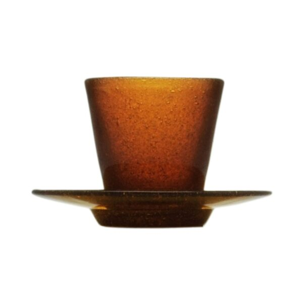000929 - COFFEE CUP - AMBER