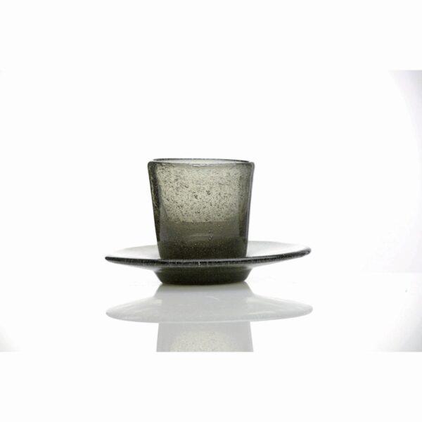 000926 - COFFEE CUP - BLACK TRANSP.