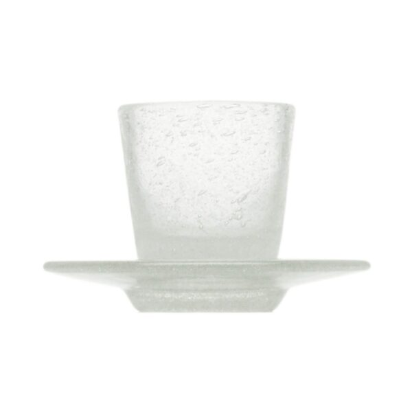 000923 - COFFEE CUP - WHITE TRANSP.