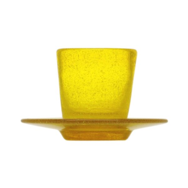 000901 - COFFEE CUP - YELLOW TRANSP.