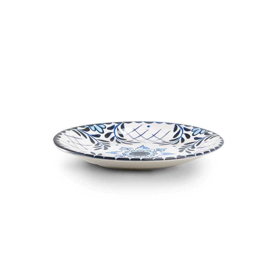 Servizio piatti 18 pezzi in ceramica - Santorini