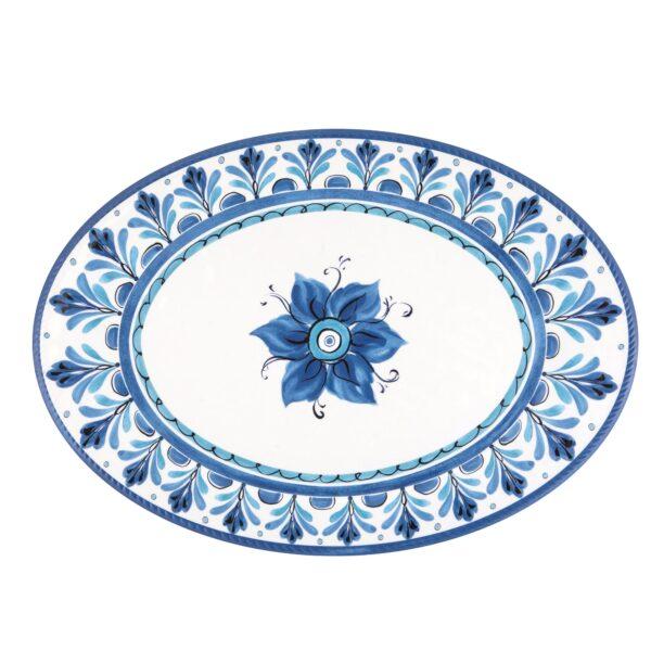 Vassoio Ovale grande - Havana blu