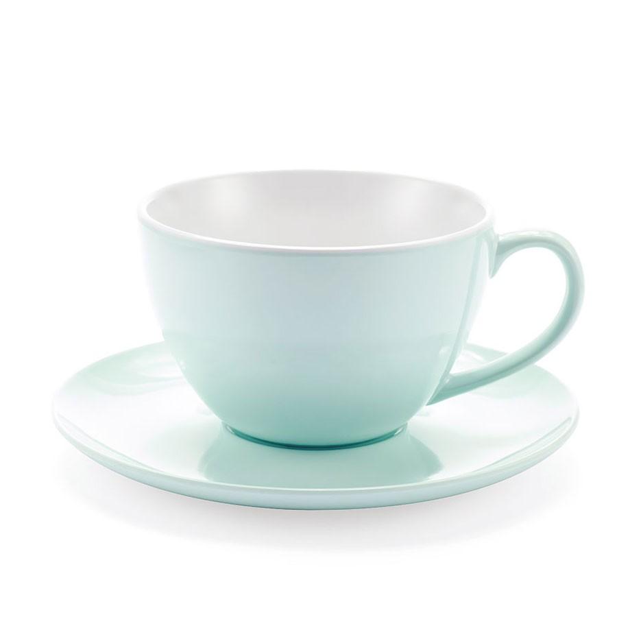 Mug con piattino - Rossa - Jumbo Mug