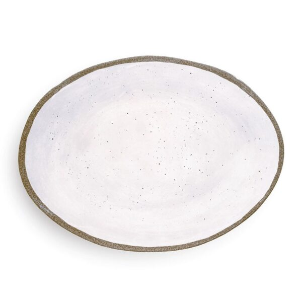 Vassoio Ovale - Bianco  - Terrae