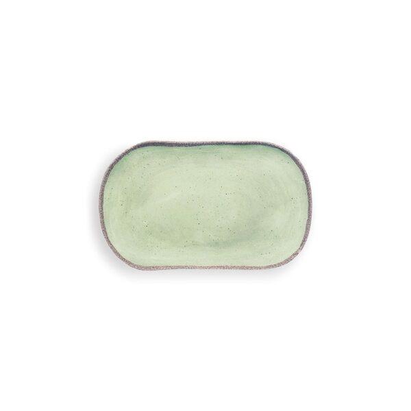 Vassoietto Rettangolare Medio - Verde  - Terrae