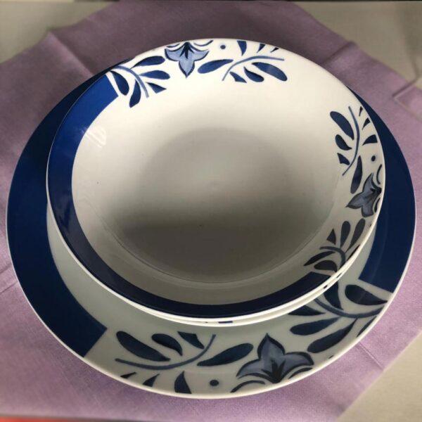 Set 3 pezzi in ceramica - Santorini
